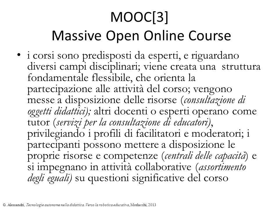 MOOC[3] Massive Open Online Course